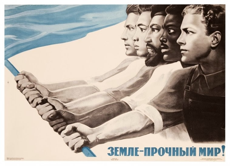 "Viktor Koretsky, ""A Solid Peace for the World"" 1965"