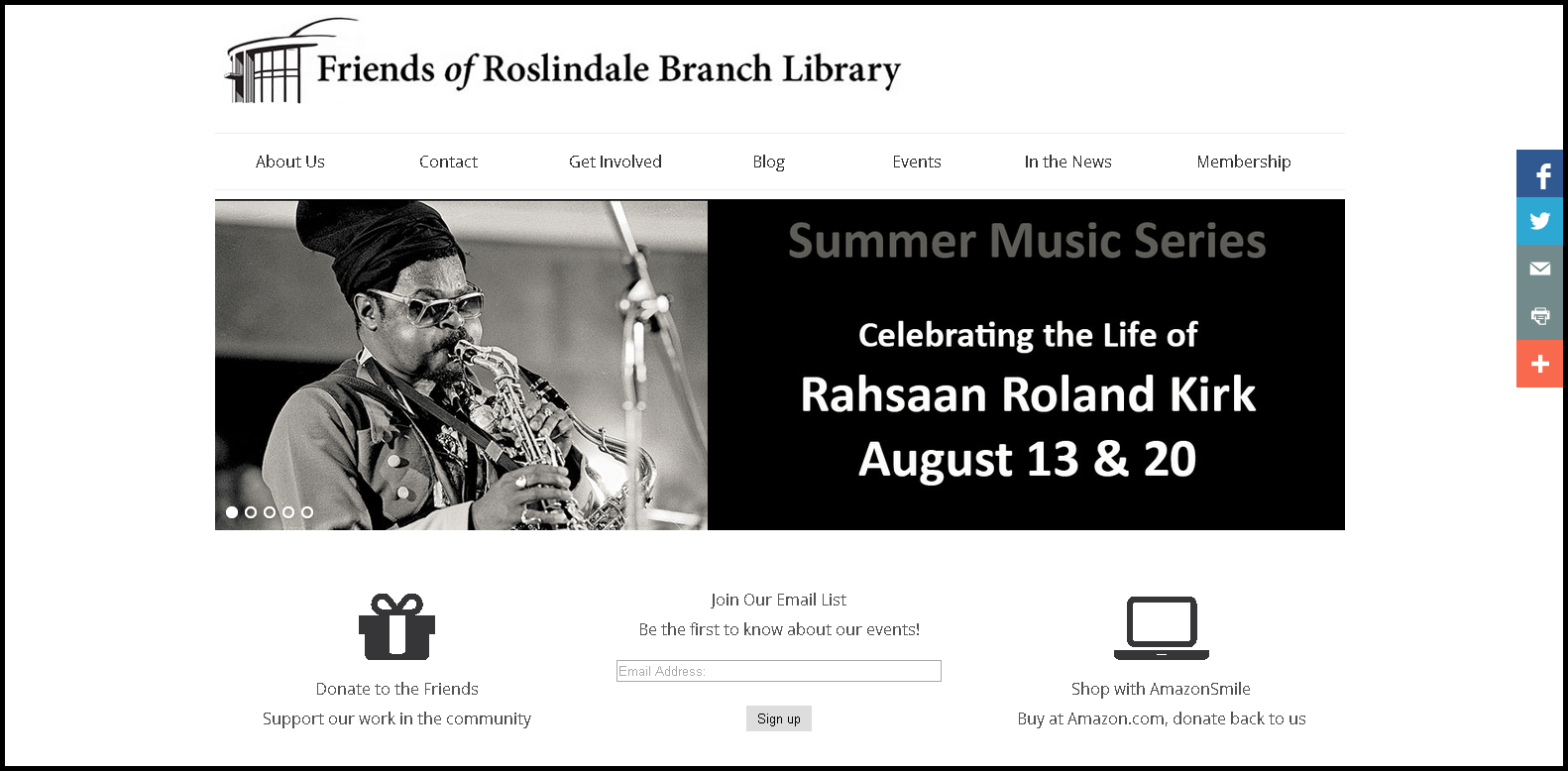 Friends of Roslindale Library