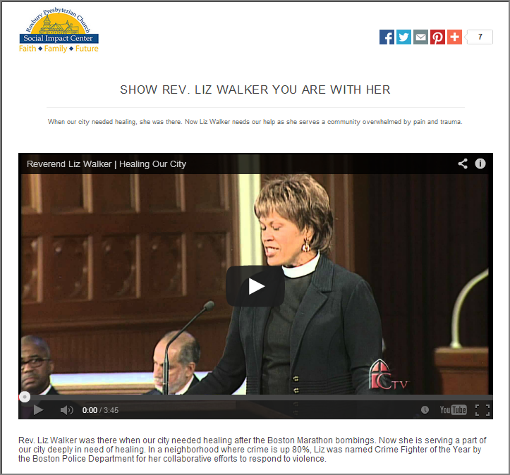 Rev Liz Walker