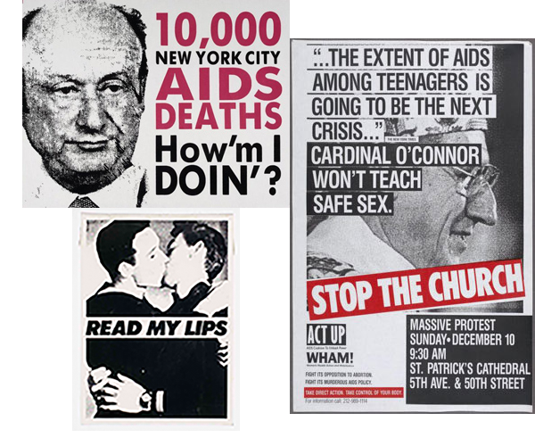 Act Up Posters
