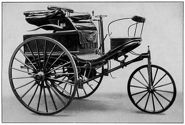 picture of the Patent-Motorwagen No. 3