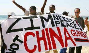 Zimbabwe arms shipment returns to China